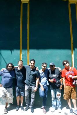 Paul Van Ross with Cubans